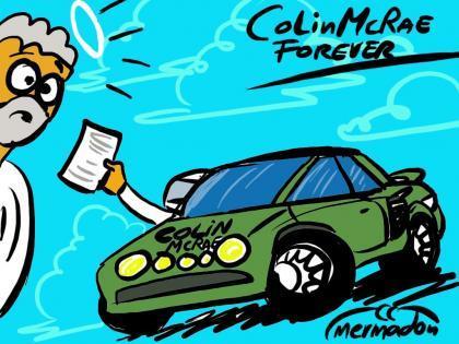 Colin McRae y el Rally Catalunya