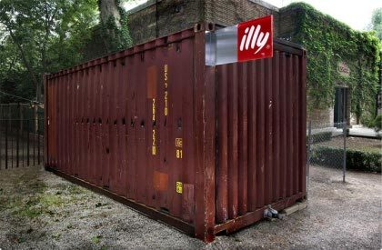 Illy Cafe: cafeterías instaladas en contenedores