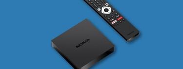 El centro multimedia 4K Nokia Streaming Box 8000 ofrece Android TV 10, USB y Ethernet por 79,90 euros en Amazon: precio mínimo