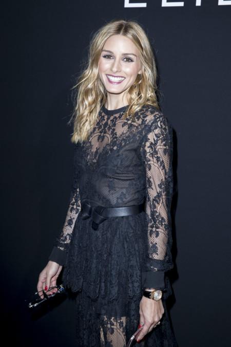 Olivia Palermo nos enseña su look más sensual para acudir al desfile de Elie Saab