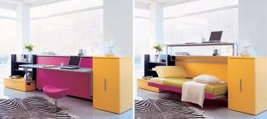 Muebles ingeniosos para ahorrar espacio