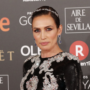 Nieves Álvarez con un lookazo soberbio en los Goya 2018 ¡Impresionante!