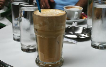 Café frappé griego