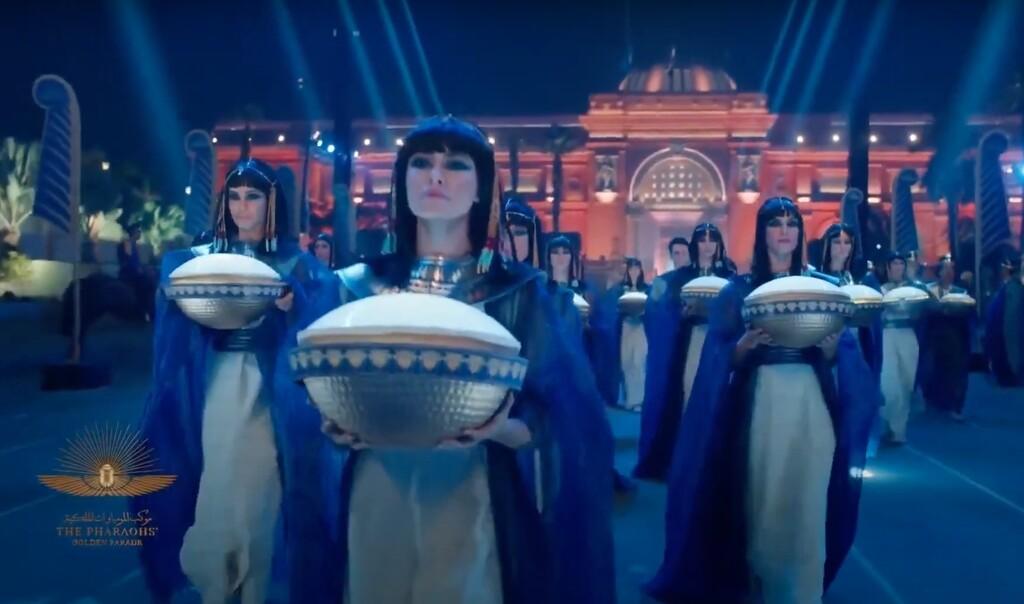 desfile -faraones