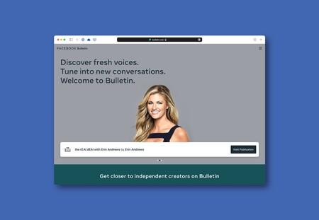 Facebook anuncia Bulletin, su alternativa a Substack para que cualquiera tenga su propia newsletter
