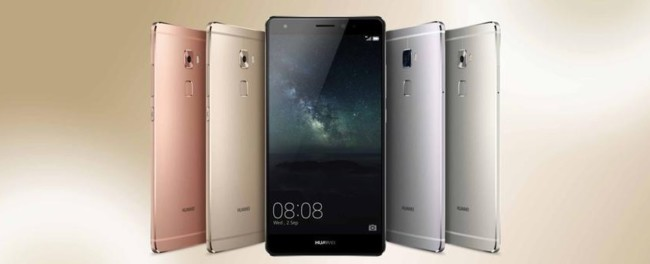 Huawei Mate S Color Options