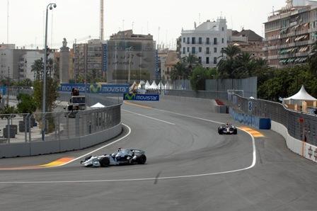 Los pilotos no ven claros los adelantamientos en el Valencia Street Circuit