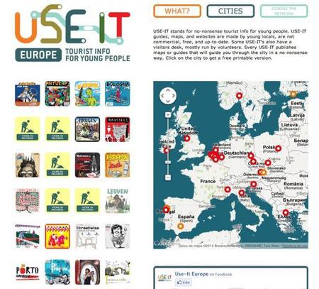 """Use-it Mapas gratis para """"viajeros jóvenes"""" ¿Sólo para jóvenes?"""