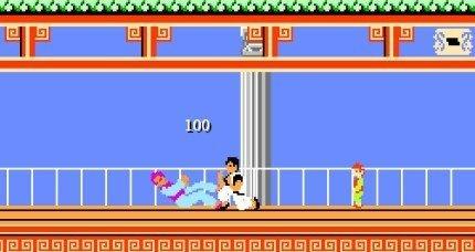 Kung Fu Remix: cuando Kung Fu Master se topa con el mundo de Mario Bros.
