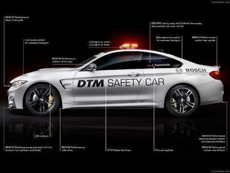 BMW M4 Coupé DTM Safety Car 2014