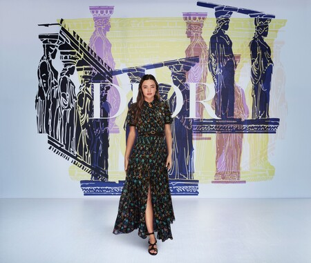 Dior Cruise 22 Vip Miranda Kerr C Sami Drasin