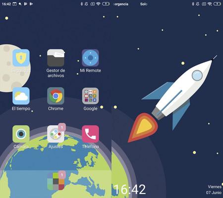 Tema Space Xiaomi
