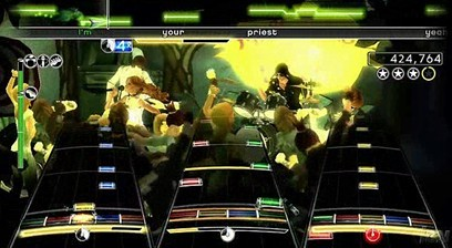 Rock Band a tres bandas