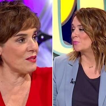 """La emoción de Toñi Moreno al descubrir la tragedia familiar de Anabel Alonso: """"Yo siempre he pensado que eras hija única..."""""""