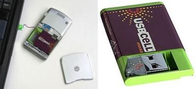 USBCell, baterías de móvil recargables por USB