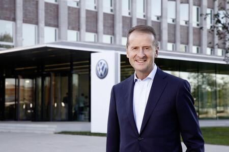 Herbert Diess Volkswagen F1