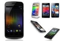 Comparativa del Galaxy Nexus con otros celulares Android