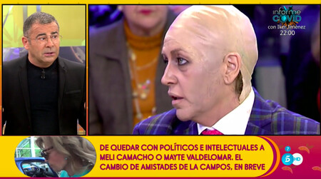 ¡Bomba! Jorge Javier Vázquez monta en cólera y asegura que María Teresa Campos acusó a 'Sálvame' de reírse de la quimioterapia de Terelu