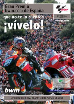 El Gran Premio de España en Jerez ya tiene cartel