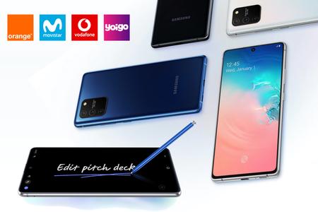 Dónde comprar los Samsung Galaxy S10 lite y Note10 lite más baratos: comparativa mejores ofertas con operadores