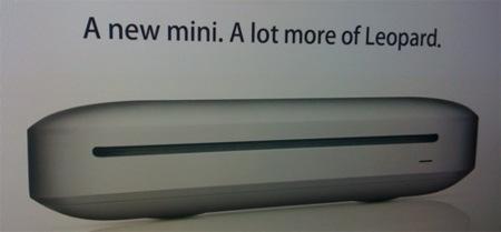 Posible imagen del nuevo Mac Mini que se presentará en la MacWorld