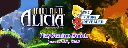 Heart Forth, Alicia estará presente en la E3 2015