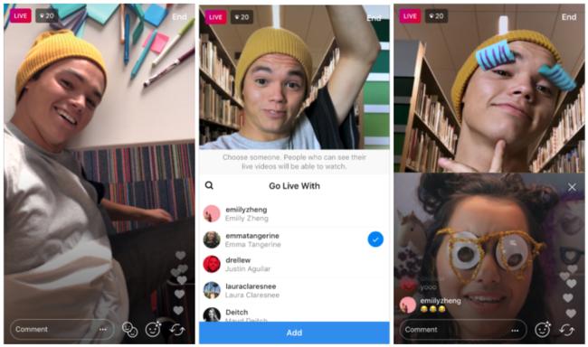 """Ya puedes hacer un directo en Instagram con un amigo gracias a """"Go live with a friend"""""""