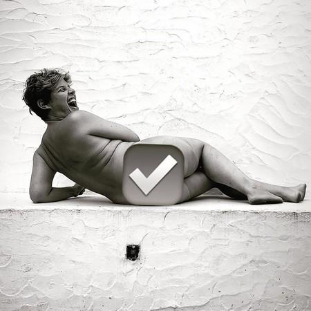 ¡Hola, 'pescao'! Tania Llasera se hace un desnudo sin enseñarte el bacalao: la aprobamos en burlar la censura de Instagram