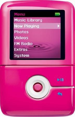 Creative ZEN V Plus en rosa