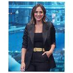 Tamara Falcó luce un perfecto look de básicos de Zara con una chaqueta muy sofisticada