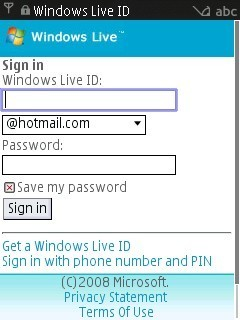 El nuevo Windows Live Hotmail Mobile está en beta pública