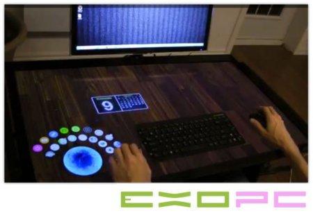 EXOPC nos muestra EXOdesk, su sistema táctil de 40 pulgadas