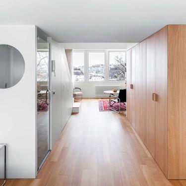 50 metros cuadrados dan para mucho si cuentas con las mejores soluciones de almacenaje, como en este apartamento