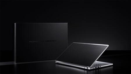 Acer Book RS Porsche Design: un ligero portátil acabado en metal y fibra de carbono que promete hasta 17 horas de autonomía