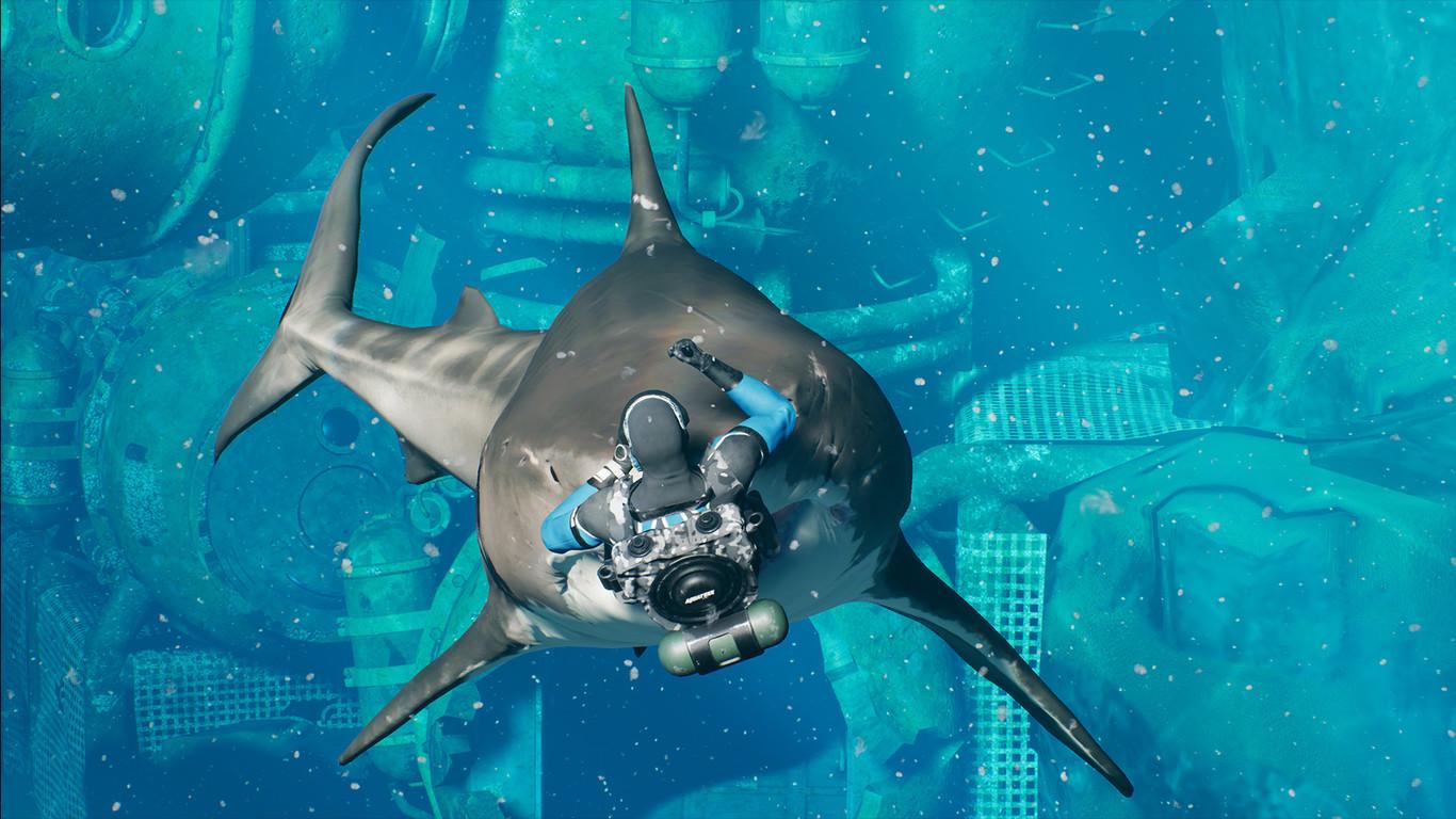 King Tide 100 Buzos Enfrentados Y Un Montón De Tiburones En Este Nuevo Battle Royale Subacuático