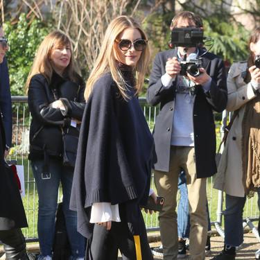 Olivia Palermo encabeza la primera fila de los desfiles de París