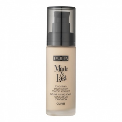 Pupa Made To Last Extreme Staying Power Total Comfort Foundation