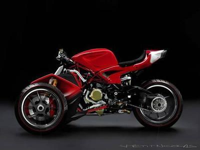 Ducati Desmosedici RR Trike Concept
