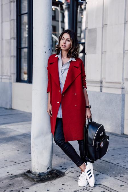 Combinar Abrigo Rojo 06