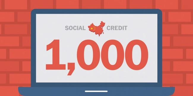 China Socialcredit