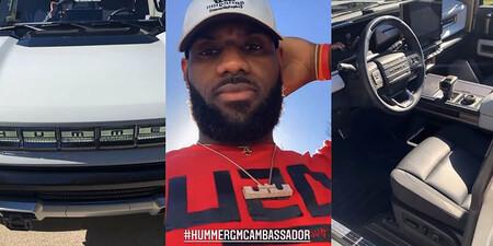 LeBron James ya ha echado el guante al brutal Hummer EV, y nos lo enseña en este vídeo
