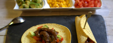 Tacos mexicanos de ternera. Receta
