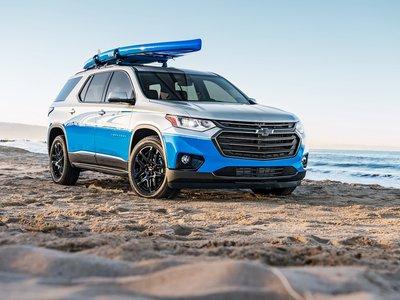 Chevrolet Traverse SUP concept, sí, los vehículos familiares también pueden ser emocionantes