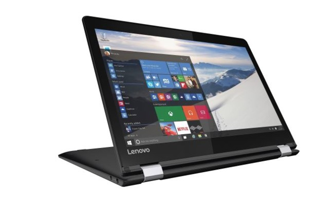 Yoga 710 11 Inch In Black Stand Mode 575px