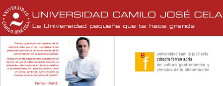 Curso online para cocineros en la Cátedra Ferrán Adrià de Cultura Gastronómica y Ciencias de la Alimentación