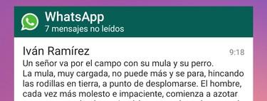 Cómo usar el widget de WhatsApp para leer mensajes sin que tus contactos lo sepan