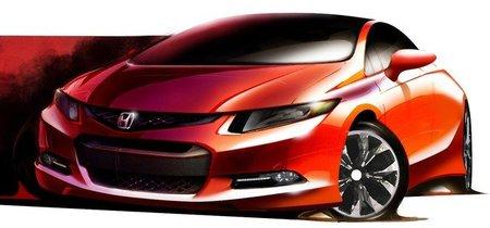 Boceto del Honda Civic Concept