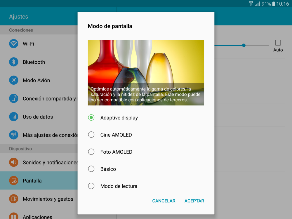 Foto de Software Samsung Galaxy Tab S2 (4/8)