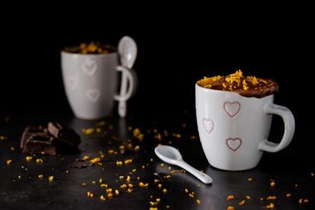 Mugcake Chocolate Naranja
