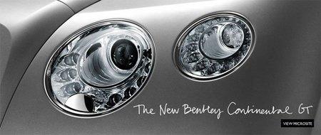 Primera imagen del nuevo Bentley Continental GT